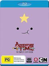 Adventure Time: Complete 6th Season - 2 DISC SET (2016, REGION ALL Blu-ray New)