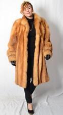 Red Fox Fur Jacket Stroller Coat - XL