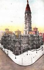 DB90. Vintage US Postcard.  City Hall. Philadelphia. Pennsylvania