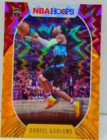 Darius Garland 2020-21 NBA Hoops  09/25 Orange Explosion Refractor Card #93 SSP