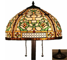"Tiffany Style Stained Glass Floor Lamp ""Concerto"" - FREE SHIPPING IN USA"