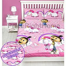 Gru, Mi Villano Favorito Daydream unicornio Agnes Funda doble de edredón set 2