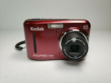 Kodak PIXPRO FZ43 16MP 4X Zoom HD 720P Compact Digital Camera -  Ruby Red EUC