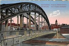 BF34350 saarbrucken pont frederic guillaume germany  front/back scan