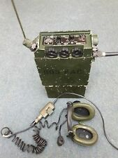 CLANSMAN MILITARY TRANSCEIVER RADIO PRC344 / RT344 - (RARE FALKLANDS RELIC)
