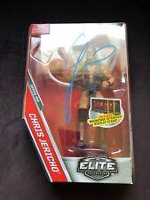 Chris Jericho Signed WWE Elite 53 Action Figure w List BAS Beckett COA Autograph