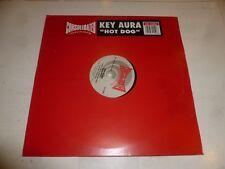 """Aura clave-Perro Caliente-Reino Unido 3-track 12"""" SINGLE VINILO"""