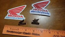 HONDA MOTORCYCLE PATCH DECAL AND PINS MOTORCYCLE ROCKER BIKER CLUB BX L #8