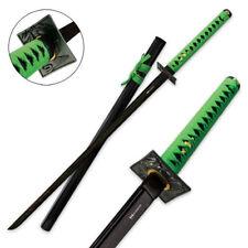 Green Dragon Full Functional Ronin Katana Damascus High Quality Steel Forged HC