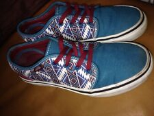 Vans Multicolour Aztec Design Shoes Size UK 4