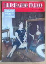 Rivista Magazine - Illustrazione Italiana n° 1 1952 - Egitto Moda Parigi