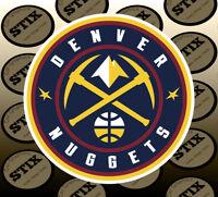 Denver Nuggets Logo NBA Color Die Cut Vinyl Sticker Car Window Hood Bumper Decal