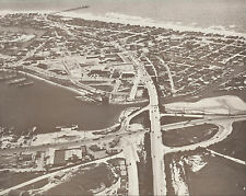 "NEWPORT BEACH Aerial PENINSULA 1940's Photo Print 971 11"" x 14"""