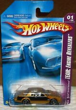 2008 Hot Wheels Team-Engine Revealers 1-4 Gold & Black Buick Grand National Diec