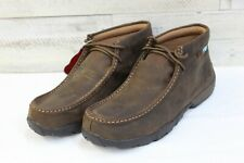 Mens Twisted X Driving Moc-Waterproof, Style MDMW001