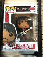 Rick James Pop! Rocks Vinyl Figure #100 Funko