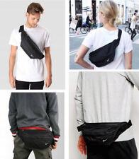 Nike Heritage Zip Hip Waist Bag Bum Bag Fanny Pack Belt Wallet Black