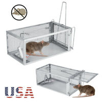 Live Humane Cage Trap for rats mice chipmunks rodents small animal Pest Control