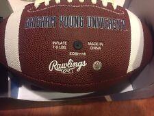 RAWLINGS BRIGHAM YOUNG UNIVERSITY COLLEGIATE FOOTBALL . BRAND NEW.