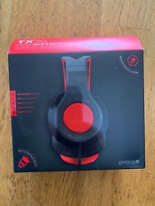 New Gioteck TX30 Headset - Red PS4 Xbox One Switch PC Multi-Format