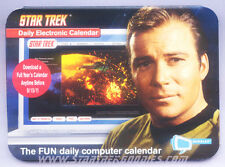 Star Trek DAILY ELECTRONIC CALENDAR by Bubbles ALL Series & Movies 2010 MINT!
