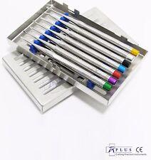 LUXATING Elevador dental proximators Precise quirúrgicos dentales Punta Con Cassette