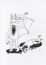 Original Art/ Drawing: More Please - A3 by Jack Teagle - 2020