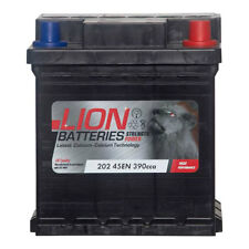 Type 202 Car Battery 390CCA Lion Batteries 40Ah 3 Years Warranty OEM Replacement