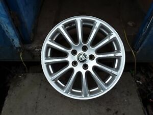 "Jaguar X-type 17"" Alloy Wheel Rim."