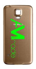 scocca posteriore ORO Samsung Galaxy S5 GOLD back cover copri batteria SM G900