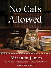 Cat in the Stacks Mystery: No Cats Allowed 7 by Miranda James (2016, CD,...