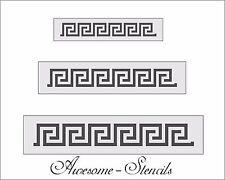 Greek Key Border Roman Stencils Pattern  Paint Craft Art