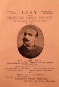 GREAT CORNETISTS OF THE PAST: JULES LEVY (1838-1903) CD