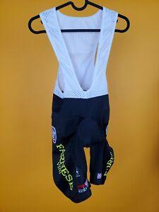 +Giordana UNISE M Cycling Bib shorts Bib white/black size M made in Italy sports