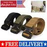 Nylon Adjustable Tactical Belt Outdoor Military Waist Belt Quick Release Buckle