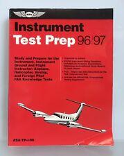 ASA Instrument TEST Prep Book 96/97 ASA-TP-I-96