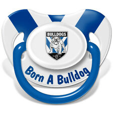 Canterbury Bulldogs NRL Infant Dummy Pacifier Baby Shower Loosing Team Logo Gift