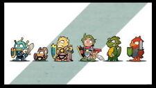 "003 Wonder Boy The Dragon Trap - Action Adventure Game 24""x14"" Poster"