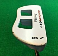 "Tour Edge Backdraft GT+ OS-2 Putter / RH / ~35"" / Headcover / NICE CLUB / mm2975"