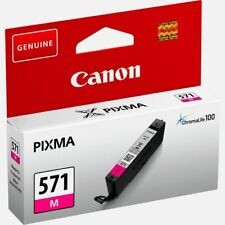 Genuine Original 0387C001 Canon CLI-571M Magenta or Y yellow PIXMA Ink Cartridge