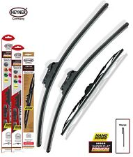 "MAZDA 6 Hatchback 2008-2012 Super Flat Premium Wiper Blades 24""16"" 20"" Set Of 3"