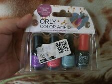 BEST PRICE! From USA! $9.99 Orly Color Amp'd Mini Nail Polish 4 Pc Set #1