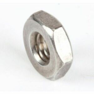 10-32 UNF Stainless Steel Full Nuts   10 pack