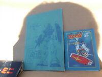 Vintage Gundam Japanese Anime Mobile Suit Part 1 Large pk @ 1 Small pk