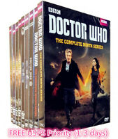DOCTOR WHO:COMPLETE SERIES, SEASONS -1-11,DVD SET, FREE SHIPPING, NEW.