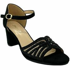 Smartty H46-511 Women's Black Dress Pageant Evening & Party Shoes size 9