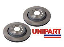 Fiat - Croma (194_) 05-Onwards 2x Rear Brake Discs (Pair) Genuine Unipart