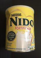 BIG Can - NIDO FORTIFICADA Instant Dry Powder WHOLE Milk 56.4 oz 3.52 LB/1.6 Kg