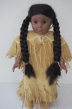 "American Girl Doll Kaya & Meet Outfit Classic Native Brown Eyes Retired 18"""