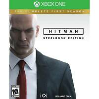 Hitman Steelbook Edition Microsoft Xbox One The Complete First Season Brand New